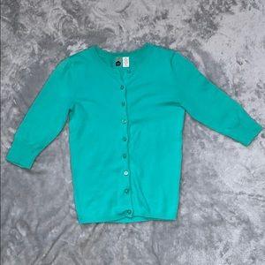 BP Turquoise Cardigan